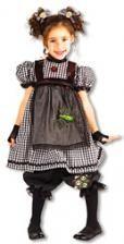 Gothic Ragdoll Kinderkostüm