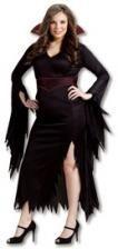 Gothic Vampirlady Kostüm XL