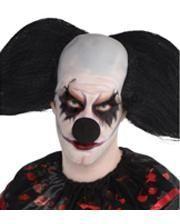 Halloween clown nose black