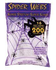 Halloween Spinnweben 60gr.