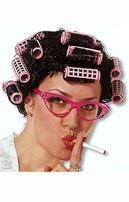 Desperate Housewife Wig with Curlers