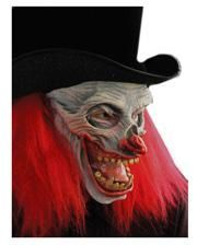 Horror clown in hat
