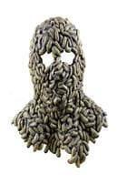 Madenbefall Horrormaske