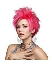 Hot Pink Vivid Cosplay Wig