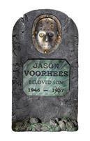 Jason Voorhees grave stone