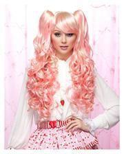 Joi Damenperücke pink-vanilla