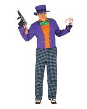 Fieser Joker Herrenkostüm