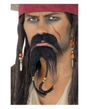 Piraten Bart Set