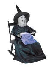 Little witch in the rocking chair Animatronic