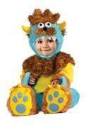 Krümel Monster Kleinkinder Kostüm