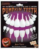 Zähne für Kürbisse
