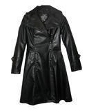 Imitation Leather Uniform Coat M
