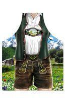 Bayerische Trachtenhose Motivschürze