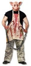 Metzger Schwein Kostüm