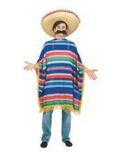 Bunte Mexikanertracht