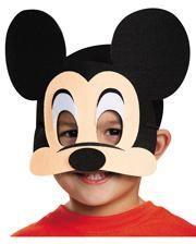 Mickey Mouse Maske aus Filz