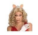 Blonde Miss Piggy Perücke