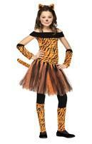 Miss Tiger Mädchenkostüm