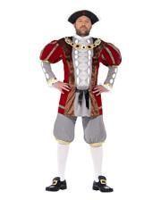 Königskostüm Deluxe Henry VIII. Gr. XL