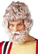 Moses Perücke mit Bart