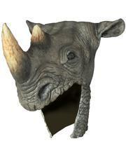 Latex Nashorn Helm
