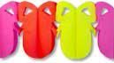 Easter Egg Garland Pink Yellow Red Small