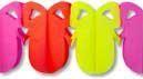 Osterei Girlande Pink Gelb Rot klein