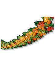 Paper Garland Oranges