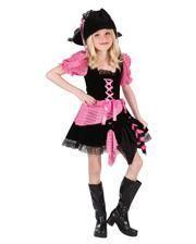 Pinkie Piratenbraut Kinderkostüm S
