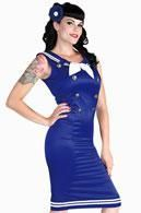 Matrosen Pin-up Kleid