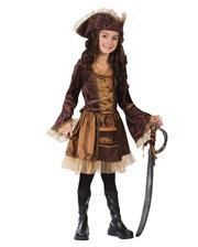 Lady Pirate Child Costume. S