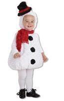 Putziges snowman costume