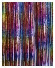 Lametta in Regenbogen Farben