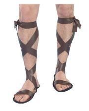 Römer Sandalen zum Schnüren braun