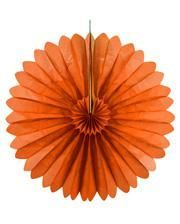 Faltfächer orange 60 cm