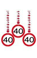 Rotor spiral road sign 40