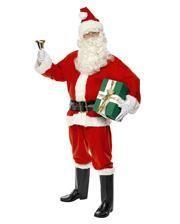 Weihnachtsmann Kostüm Deluxe