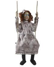 Swings Scary Doll Animatronic