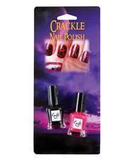 2-tlg. Crackle Nagellack Set