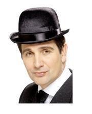 Black Derby Hat