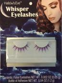 Sexy purple eyelashes