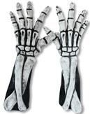 Long Skeleton Hands white