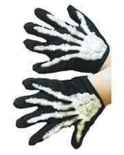 Skeletthandschuhe für Kinder