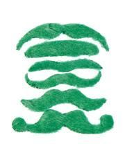St. Patrick`s Day beards 6 pieces