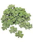 St. Patricks Day Kunststoff Kleeblätter