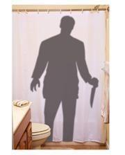 Serienmörder Duschvorhang