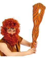 Karnevals Steinzeit Keule aufblasbar 78cm
