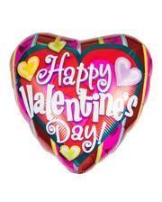 Kunterbunter Valentinstag Folienballon