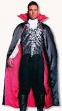 Vampir Kostüm schwarz-rot