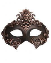 Altertümliche Augenmaske bronze-schwarz